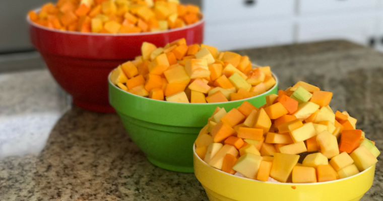 Sweet and Spicy Butternut Squash-Guyanese style Pumpkin