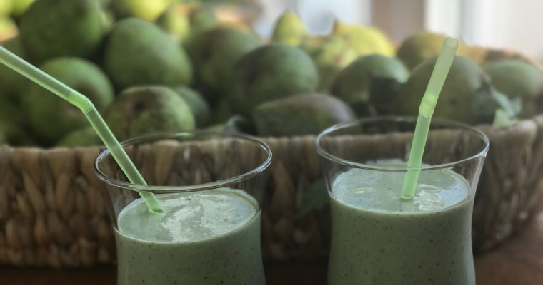 Pear and Ginger Smoothie